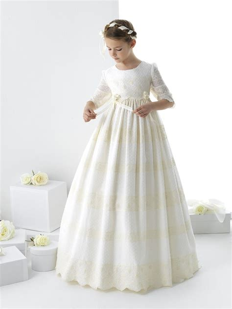 vestidos de primera comunin flowers girls dresses communion ideas comunion bautizo