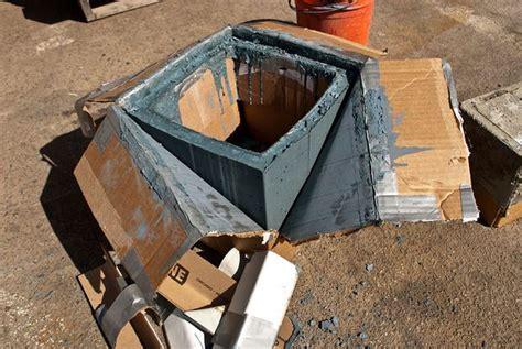 diy concrete planter box concrete