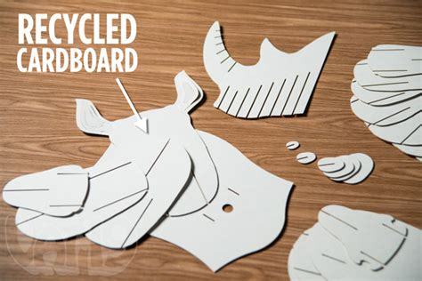 cardboard taxidermy templates document moved