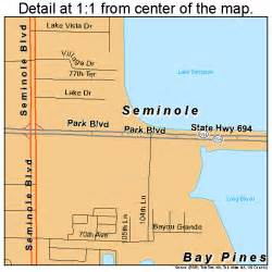 map of seminole florida seminole florida map 1264975