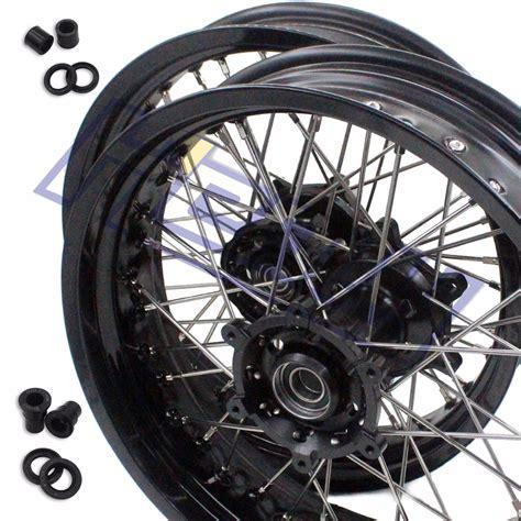 Wheels For Suzuki Aliexpress Buy 3 5 17 Quot 5 0 17 Quot Supermoto Complete
