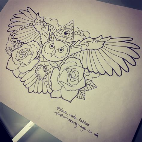 chest tattoo designs drawings owl chest designs drawings amazing