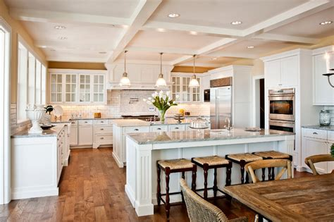 georgian kitchen design 30 kitchens that prove the value of double islands the