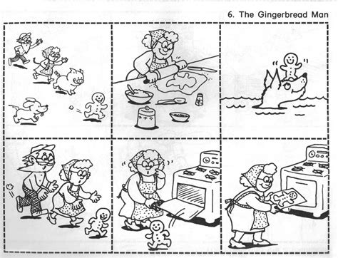 Gingerbread Man Coloring Pages 9 Rock Around The Story 3 Colouring Pages