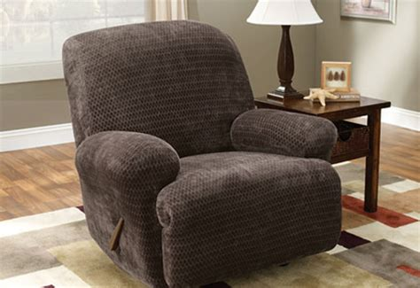 extra large recliner slipcover sure fit stretch royal diamond recliner