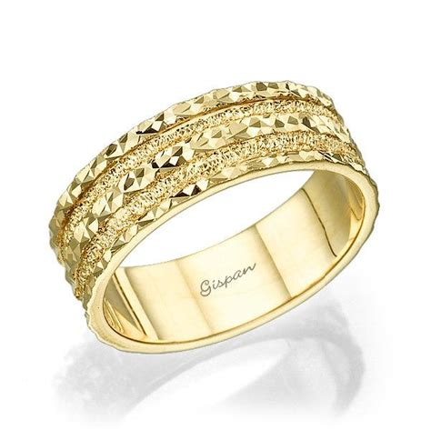 unique wedding band wedding ring gold weddng ring