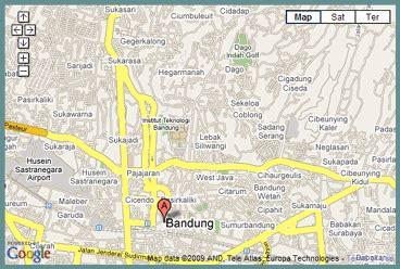 map of bandung city bandung map peta bandung map of bandung city peta