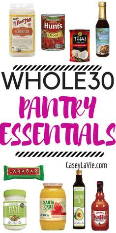 kitchen items pantry essentials food items you should always have in 25 whole30 compliant foods at trader joe s whole30