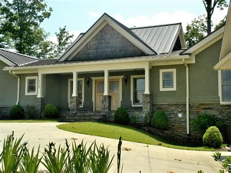 metal roof house color combinations house colors metal roof combination exterior home ideas