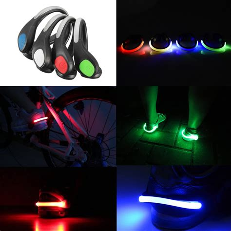 safety lights for runners at night outerdo 1 pair led luminous outdoor sport flashing safety