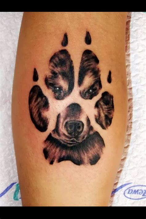 tattoo animal paws looking for a paw print tattoo tattoos beautiful