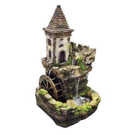 alpine corporation   castle tiered fountain usa