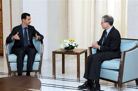 robert ford ambassador us envoy leaves syria security fears news al