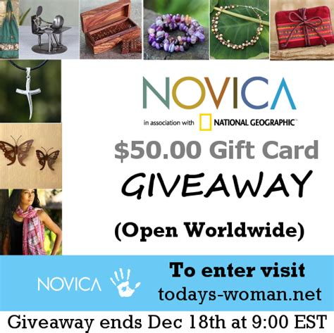 Novica Giveaway - novica giveaway 12 days of christmas today s woman