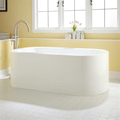 freestanding corner bathtub 59 quot averill acrylic freestanding corner tub bathroom