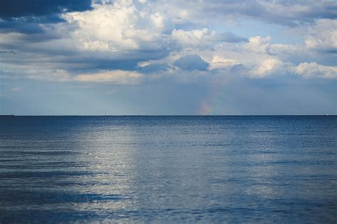 horizon sky  wallpaper  baltic sea