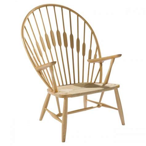 ash wood peacock chair
