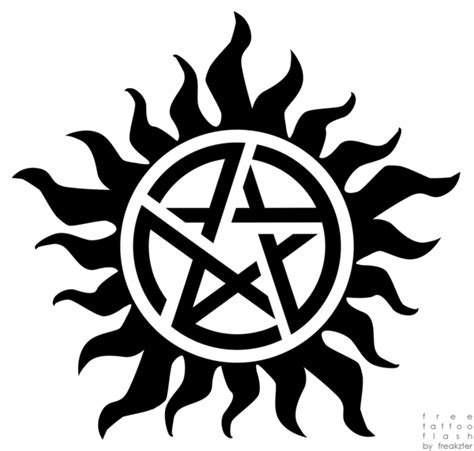 supernatural anti possession tattoo anti possession by freakzter freebies on deviantart