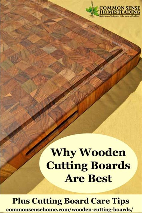 Hand Made Kitchen Knives 4 reasons wooden cutting boards are better than plastic or