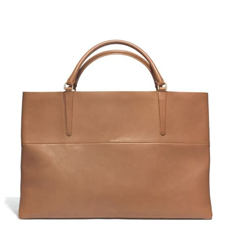 Tote Your To Town by Coach The Large Eastwest Town Tote In Retro Glove