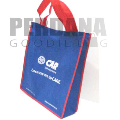 Tas Spunbond Laundry Kantong Goodie Bag Seminar Sablon tas souvenir tas spunbond tas kanvas goodie bag promosi murah jakarta