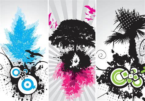 modern tree vector art   vectors clipart