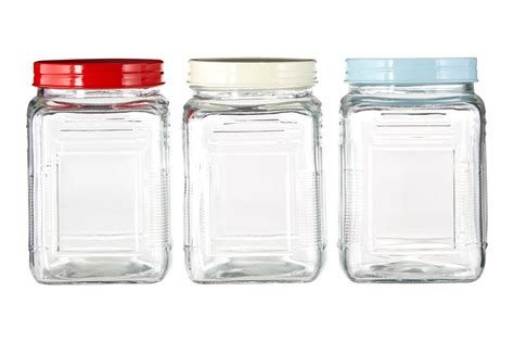 glass kitchen storage canisters square canisters storage glass jar tea coffee sugar other kitchen organizer ebay