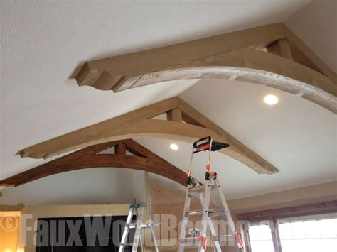 adding beams to ceiling great way to add character to any living space with faux