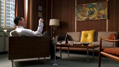 Mad Men Furniture | mad men furniture don draper s office 171 the mid century