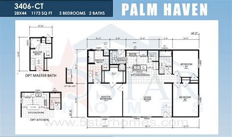 manufactured homes floor plans silvercrest homes with skyline palm haven series 5starhomes manufactured homes