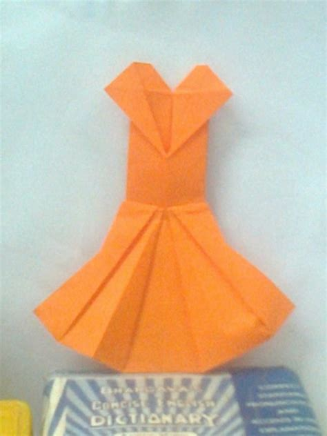 Origami Clothing For - origami dress by writetopaint on deviantart