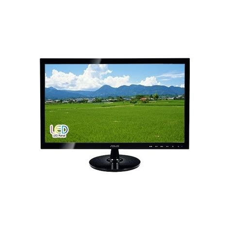 Monitor Lcd Asus 23 6 Inch Hd Led Lit asus vs247 led lcd monitor 23 6 1920 215 1080 hdmi dvi