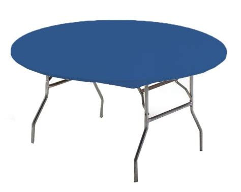 Creative Converting Round Stay Put Plastic Table Cover 60 60 Patio Table Cover