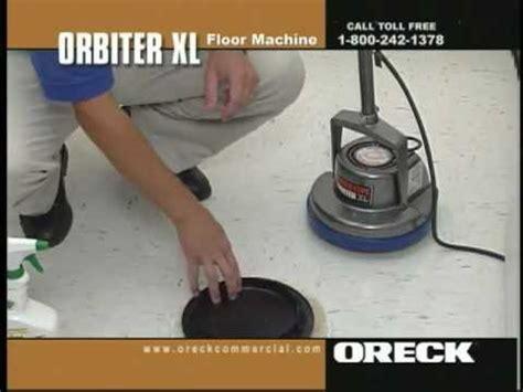 Vinyl Floor Cleaning Machine by Oreck Commercial Orbiter Floor Machine Vinyl Floor