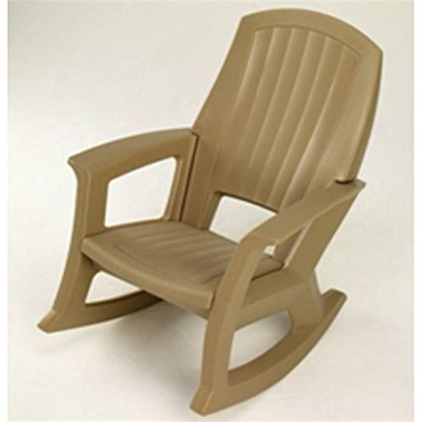 Semco Rocking Chair by Taupe Outdoor Rocking Chair 600 Lb Capacity Furniture Chairs Chairs