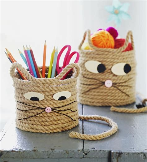 craft project for 3 animal themed rope crafts parents