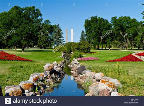 International Garden by The International Peace Gardens Park Near Bottineau