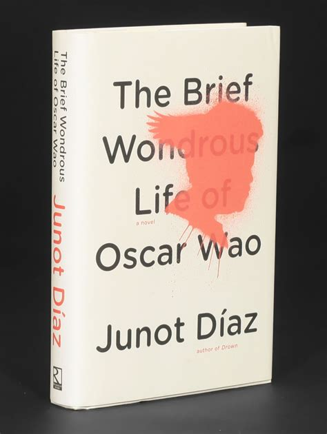 the brief wondrous life 0571239730 the brief wondrous life of oscar wao junot daz 1st edition