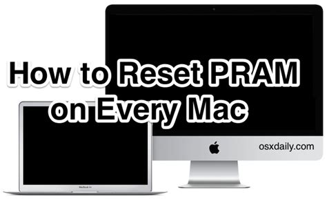 reset nvram ipad how to reset pram on a mac