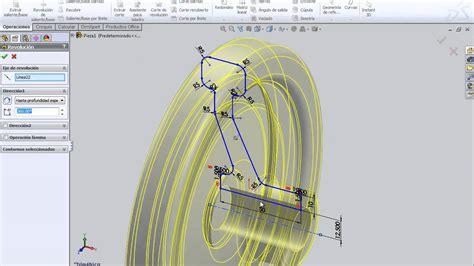 tutorial solidworks volante parte  youtube