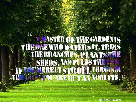 Quote Garden by Triyae Quotes About Backyard Gardening Various