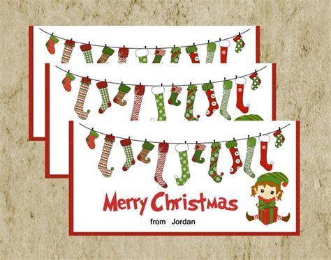 printable christmas treat bag toppers christmas treat bag topper diy printable merry christmas