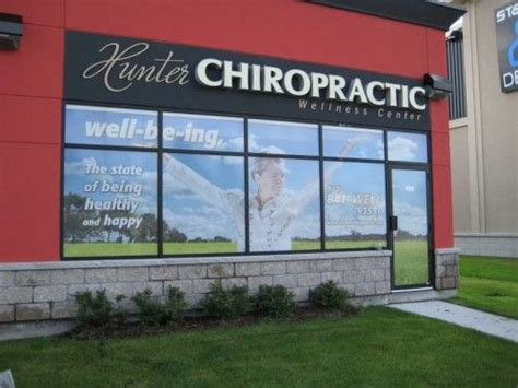 Window Decals Ottawa ottawa window graphics hunter chiropractic