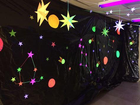 themed party lights galactic starveyors vbs 2017 calvary baptist church