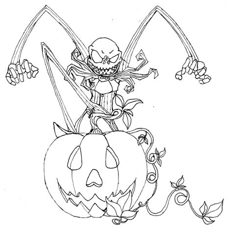 Free Printable Nightmare Before Christmas Coloring Pages A Nightmare Before Coloring Pages