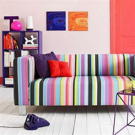 Perk Up The Living Room With 15 Colorful Sofa Ideas Rilane Colorful Living Room Furniture