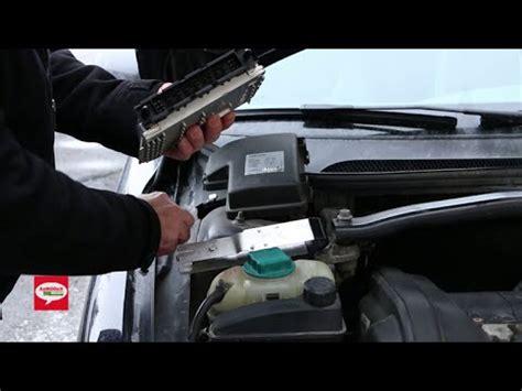 volvo engine control module ecm removal procedure      xc xc  youtube