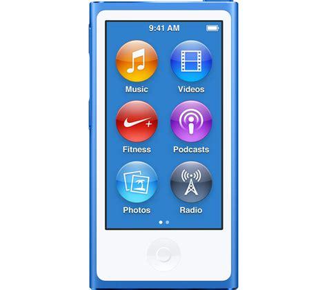 buy apple ipod nano 16 gb 7th generation blue free