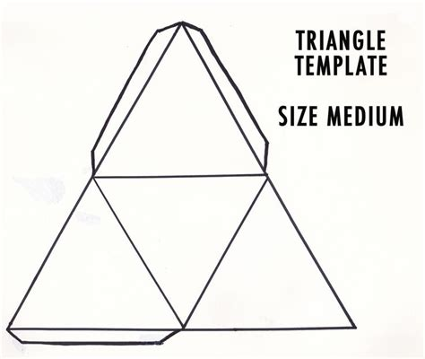 25 Best Ideas About Triangle Template On Pinterest Presentation Keynote Design And Triangle Tree Template