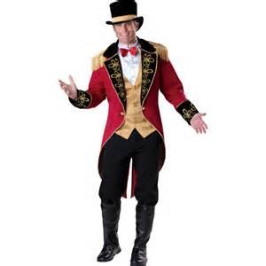 Harlequin Halloween Costumes Adults Ringmaster Costume